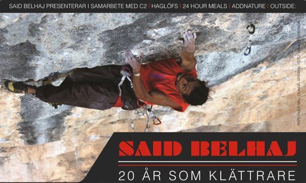 20 år som klättrare miniturné november: bild/filmvinsning, föredrag, konsert.