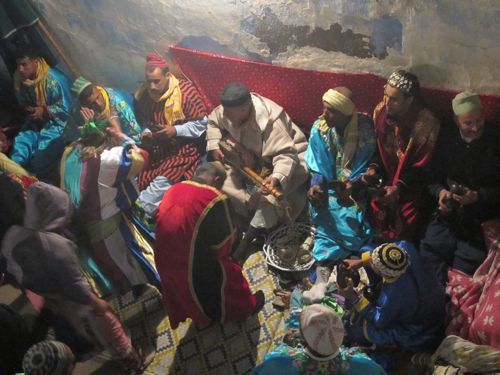 moussem in Morocco -a taste of the old world