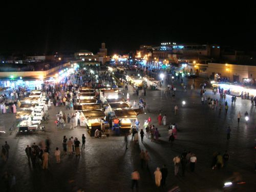 the yearly Moroccan pilgrimage