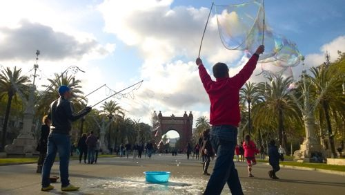 Catalunyan spring